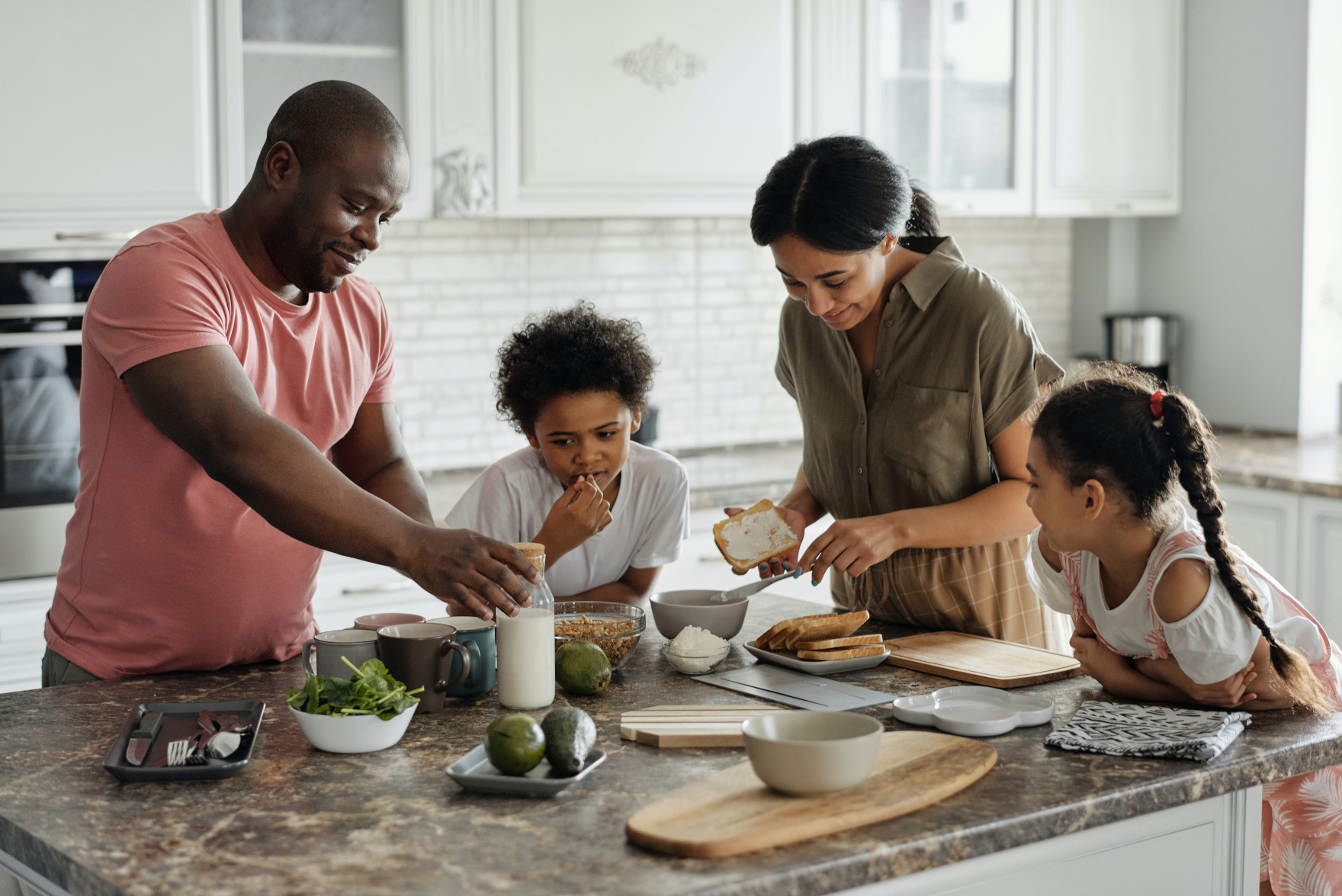 financially secure family
